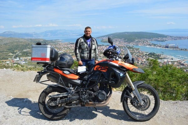 motorcycle rental Romania