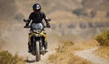 BMW F750GS motorcycle rental